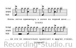 MIDI барабаны в стиле реггей