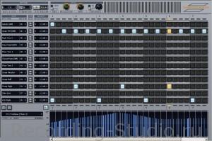 Шаговый секвенсор в Сонаре